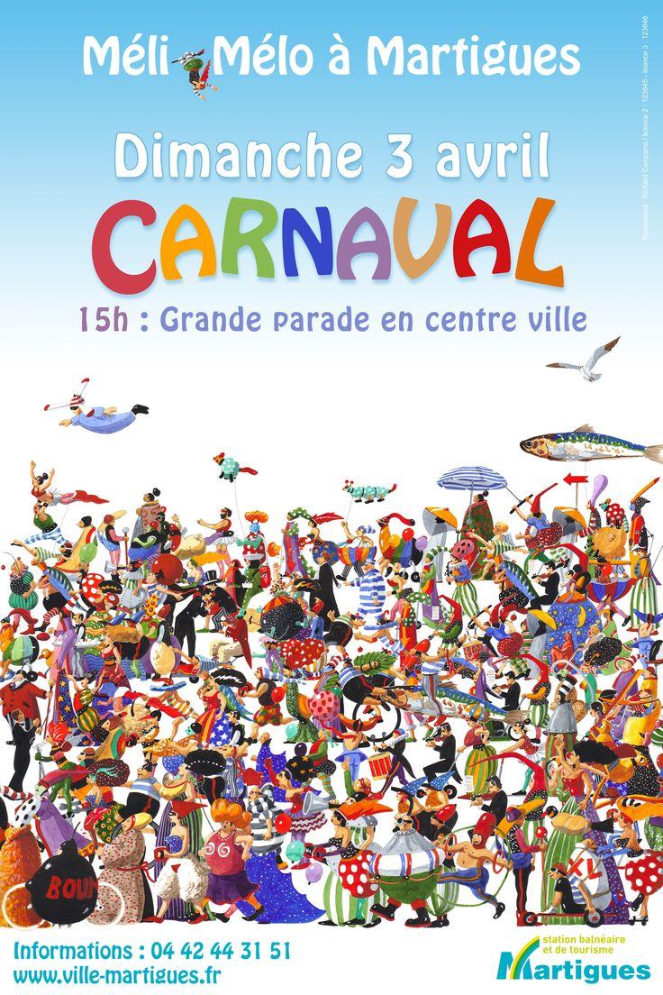 Affiche Carnaval de Martigues