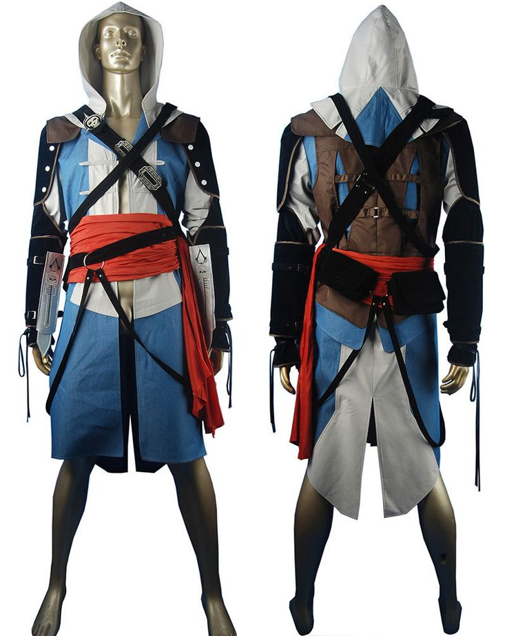 Assassins Creed black flag edward kenway cosplay costume jacket hoodie halloween costume comic-con anime costumes deluxe