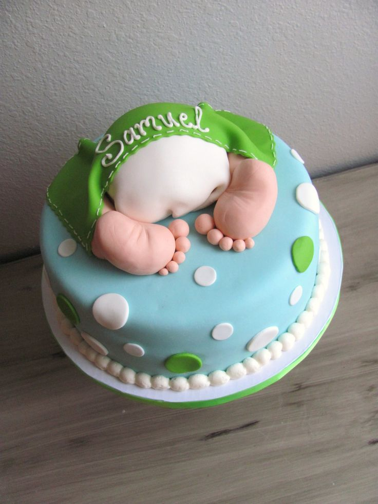 Baby Shower Cakes For Boys | Boy Baby Bottom Cake For Baby Shower |  Nashville Sweets