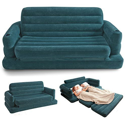 Intex Two Person Inflatable Pull Out Sofa Bed #68566