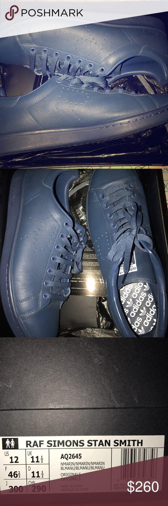 Raf Simons Stan Smith adidas Like new adidas good perfect shape not damaged at all Raf Simons Shoes Sneakers