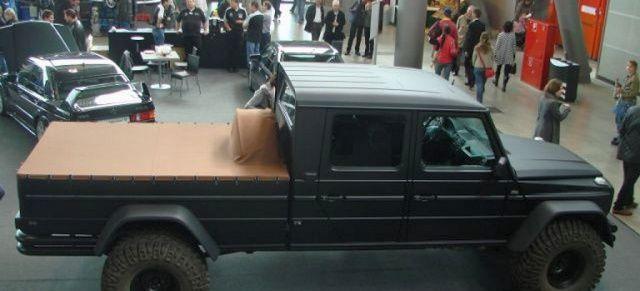 Wolf Factory baut G 500 Full Size Pick Up: Mercedes G-Klasse im Pick Up-Look