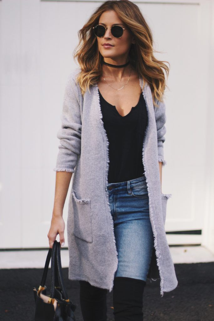 Best 25  Open cardigan ideas on Pinterest | Purple fall outfits ...