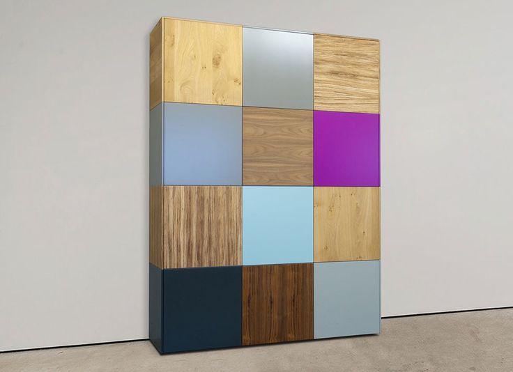 Combineer kleuren met houtsoorten en creëer je eigen unieke kast.