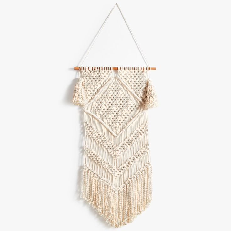Chevron Crochet Wall Hanging