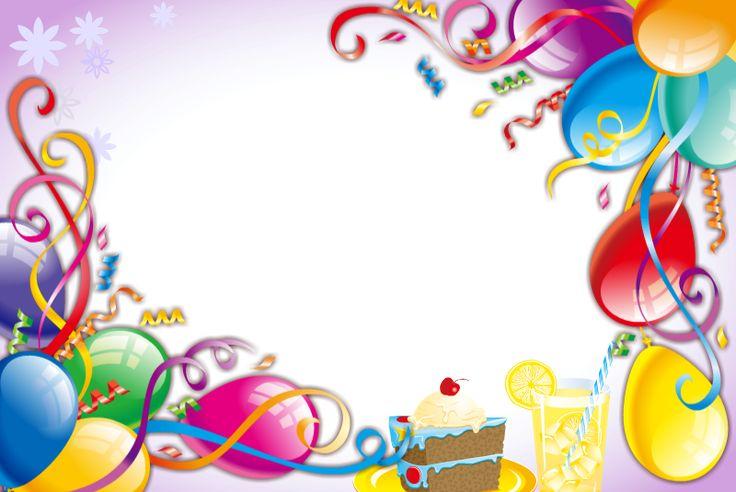 Ivone Produções: Molduras em png - para fotos de aniversário infantil: