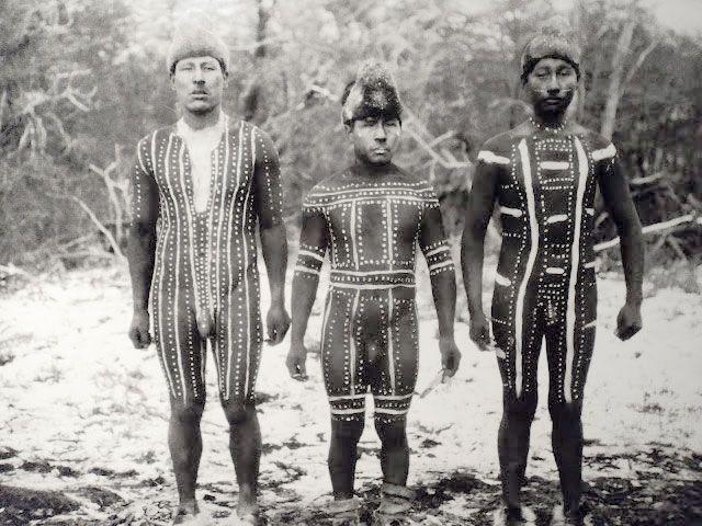 11 fotos increíbles del rito ona que desapareció hace un siglo en Tierra del Fuego - Laika