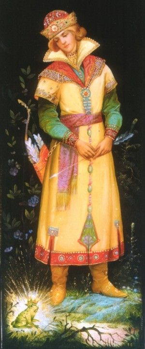 The Frog Tsarevna, Russian Folk Artist. Follow the link to a site of Russian fairy tales - great for classroom reading activities.
