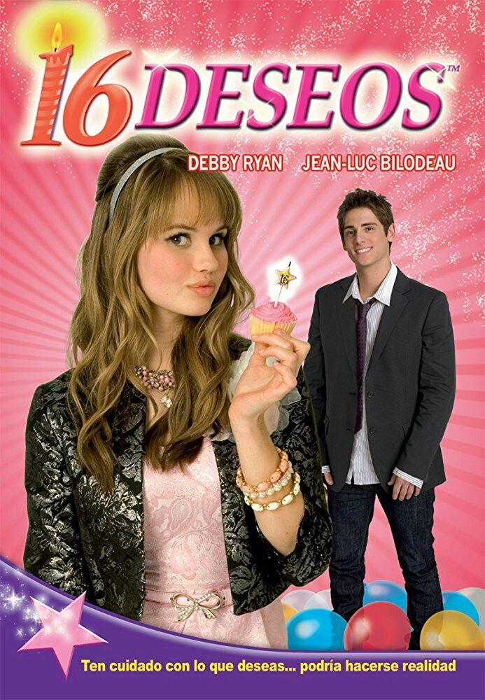 16 DESEOS [2010]Jun》Comedia/Fantasia》EEUU》Sinópsis:Ansiosa por hacerse mayor, Abby ha estado planeando su decimosexto cumpleaños desde que era niña y ha mantenido en secreto una lista de deseos que le gustaría que se hiciesen realidad. Cuando el gran día finalmente llega, todo parece salir mal. Pero entonces una misteriosa caja de velas de cumpleaños mágicas llega para cambiar las cosas y los 16 deseos de Abby empiezan a hacerse realidad.
