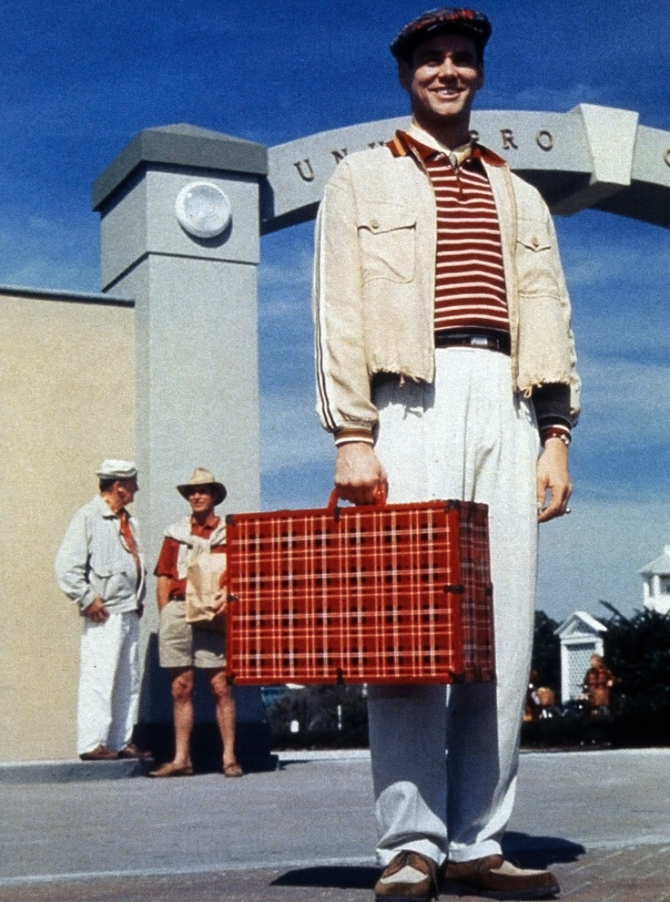 truman show costume Urban cinefile : imprisoning visions : weir, peter : the truman show a revealing interview with peter weir where he talks about the truman show as a rites-of-passage.