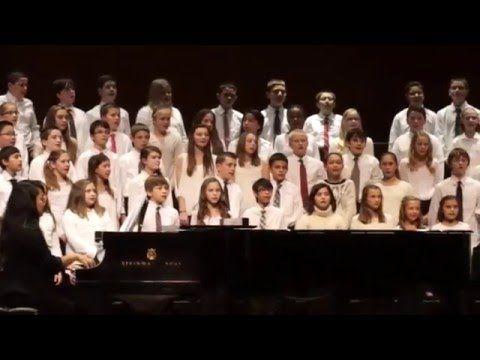 "Pilgrim Park Middle School Choir sing ""Count on Me"" by Bruno Mars - YouTube"