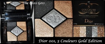 what my eyes want: dior gold edition