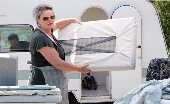 Caravanity ***Filmpje: zelf kussens maken voor je caravan of camper