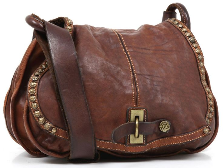 Campomaggi Shoulder Bag leather 30 cm - C1217VL | Designer Brands :: wardow.com