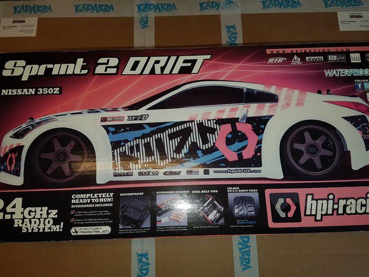 108220 HPI Sprint 2 Sport RTR Falken Tire Porshe 911 GT3 RSR 1/10 4WD