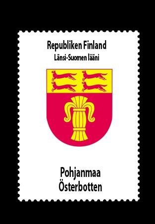 Republiken Finland • Länsi-Suomen lääni (Västra Finlands län) • Pohjanmaa - Österbotten