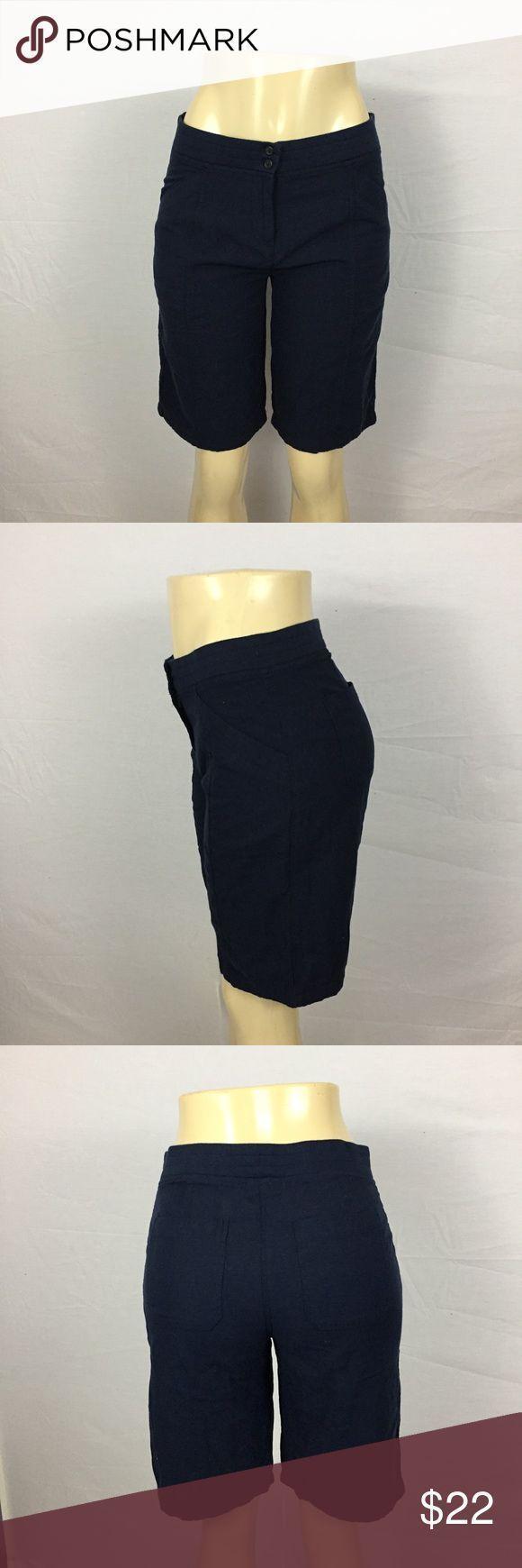 J JILL Navy Navy Gr. 4 Cotton Modest Shorts *** Alle günstigen Angebote …   -…