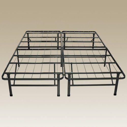 sleep master u2013 platform metal bed king u2013 perfect for spring latex and memory foam mattresses