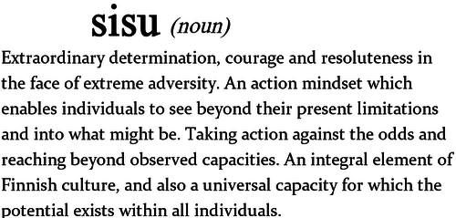 Definition of Sisu