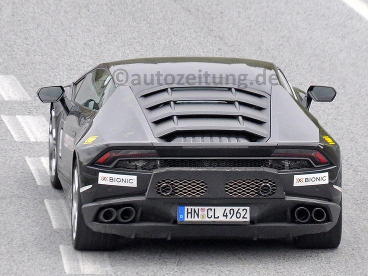 Lamborghini Huracán LP 620-2: Erlkönig mit Heckantrieb?