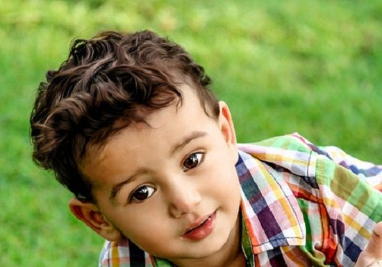 Boy Hairstyles For Long Curly Hair: Curly Haircuts For Little Boys