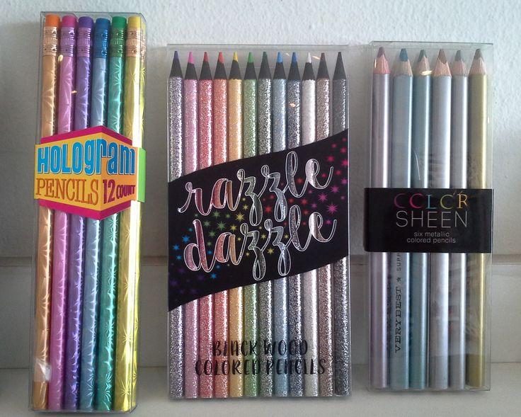 ¡Diviértete y crea con los #colores #metálicos y #lápices de #TheMoshiMoshiShop !