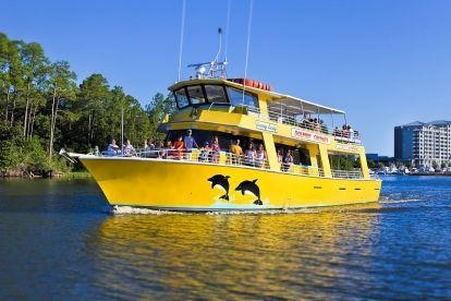 Orange Beach Dolphin & Sunset Cruises @ The Wharf - TripShock!