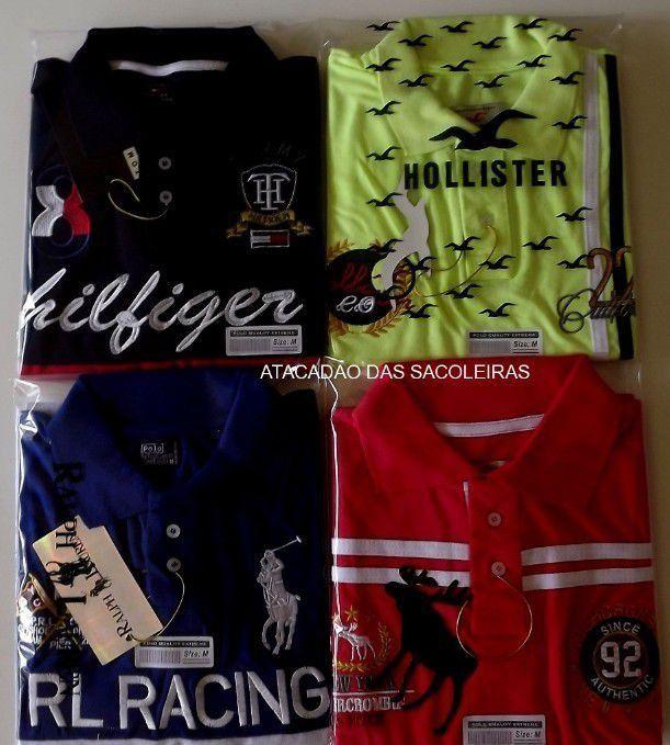 Camisas Polo Masculina em Promoção, Camisas Polo Masculina no Atacado,Camisas Polo Masculinas de Marcas, Comprar Camisas Polo no Atacado