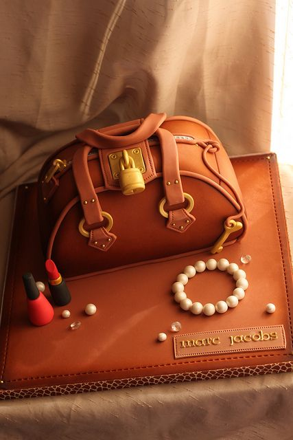 Purse cake by Andrea's SweetCakes, via Flickr