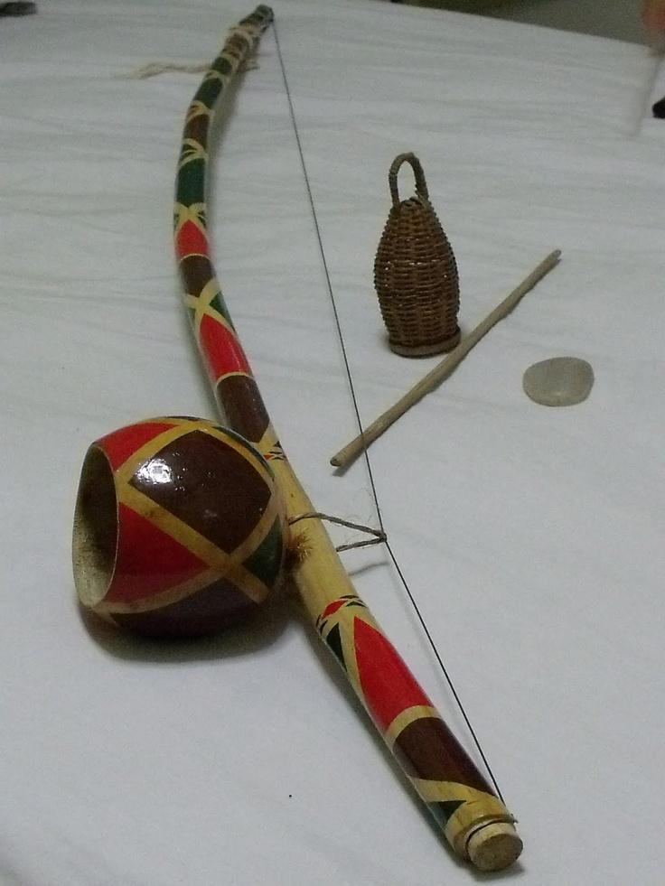 Painted berimbau