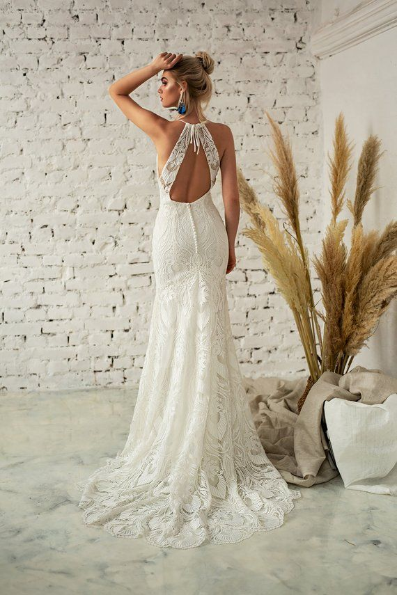 29+ Boho halter wedding dress ideas in 2021