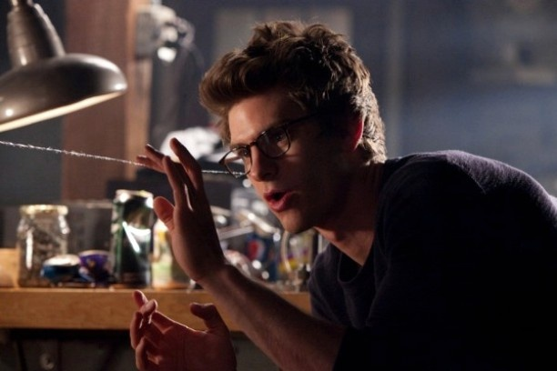 """Andrew Garfield takes on """"The Amazing Spiderman"""" with the same dedication and conviction as he did Eduardo Saverin. Serious consummate actor."""