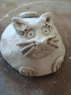 Pinch Pot Clay Animals (step-by-step photos on website)