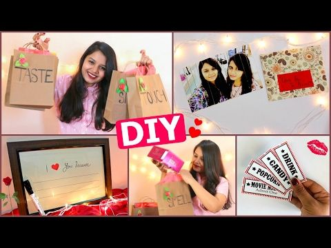 DIY – Last Minute Valentine's Day Gift Ideas for him/her ( Pinterest Inspired ) – YouTube