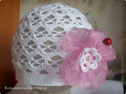 Вязание крючком - Вяжу детские летние шапочки, береты, шляпки крючком.