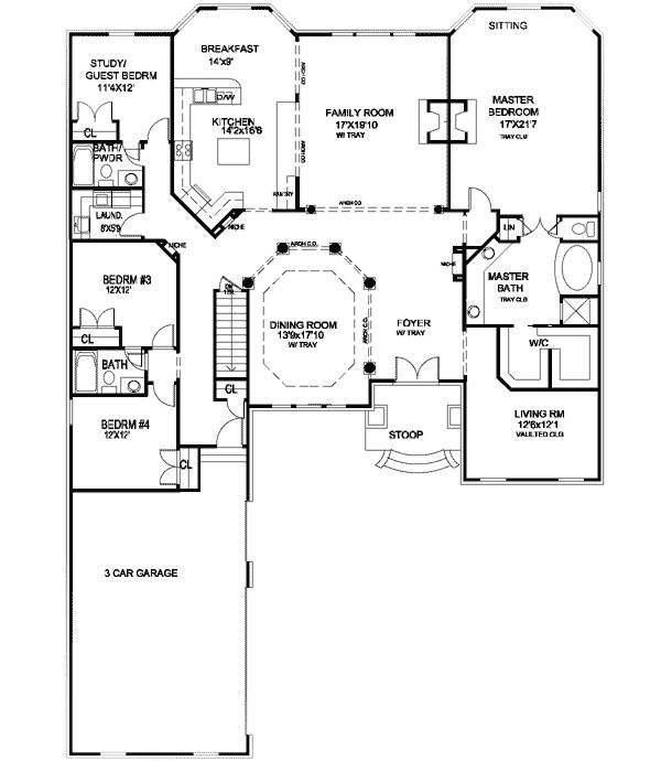 Floor Plan   Has All The Room We Need   With A Separate Living Area!