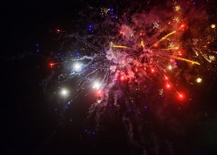 Accra welcomes 2017 with splendid fireworks at Festival of Lights & Music (Photos)