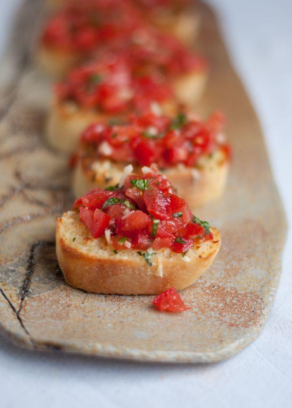 eat: Bruschetta with Garlic Mozzarella Toast || this heart of mine