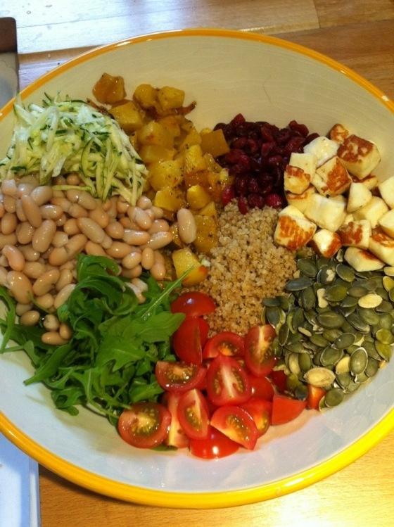 quinoa pumpkin salad | Nom nom | Pinterest