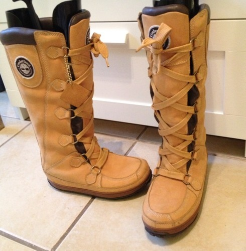 Timberland Mukluk Waterproof Womans Knee High Boots Uk Size 6 | eBay