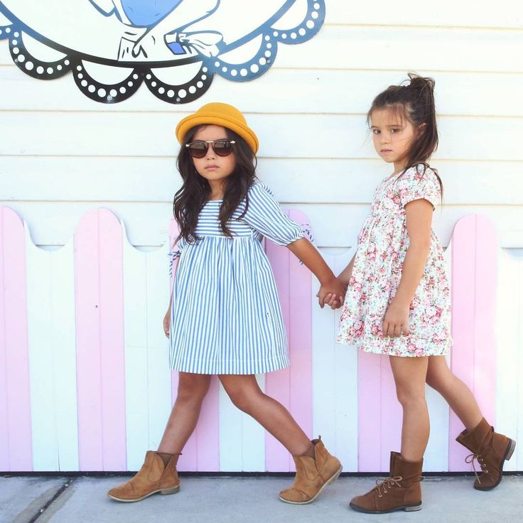 Skipper Dress and Mustard Bowler Hat by Lacey Lane