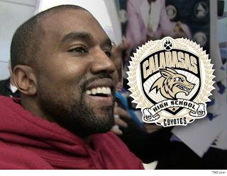 Kanye West Set To Design Yeezy Jersey For Calabasas High   Would you let Kanye West design your high school football uniforms?? Would you let him pick your team name??? Those are the questions Calabasas High School is now asking itself -- because Yeezy wants to take control of the CHS sports uniforms and help to re-brand the entire program.We're told Yeezy's team recently met with school officials to pitch a collaboration between Yeezy and CHS. Our sources say he wants to change the school's…