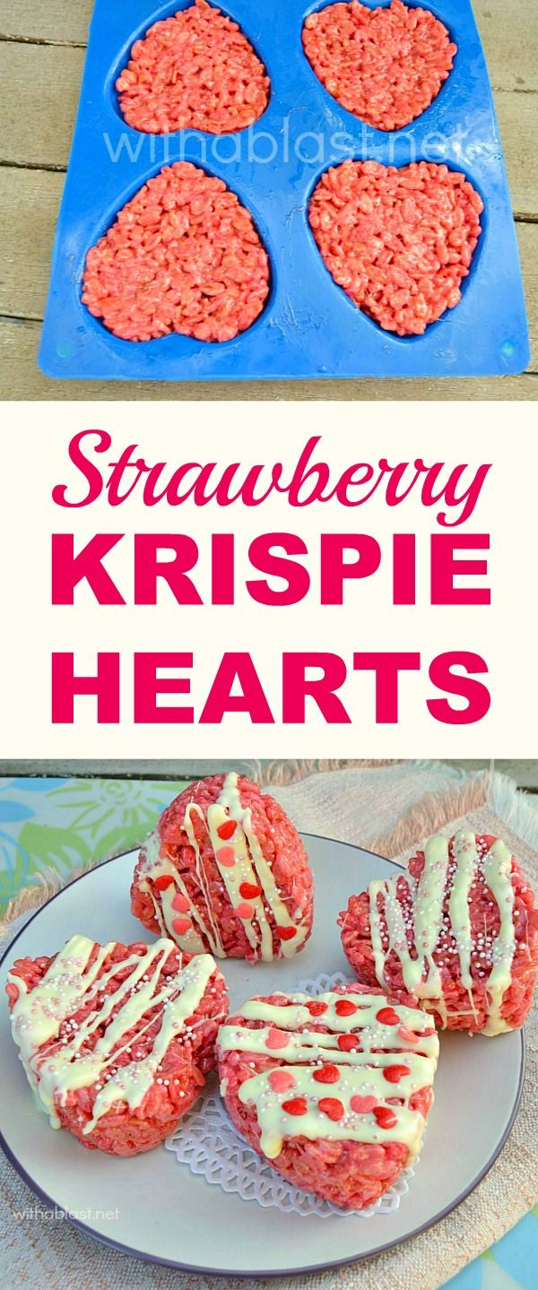 Only 5 ingredients and so easy to make for Valentine's Day