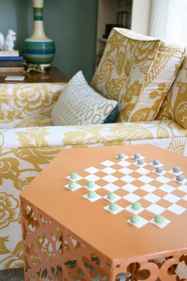 ... Game Board For That Table You Donu0027t Know What To Do With. Learn How To  Make This DIY Game Table For Living Room Entertainment. ( Mcknelly Waller  Of ...