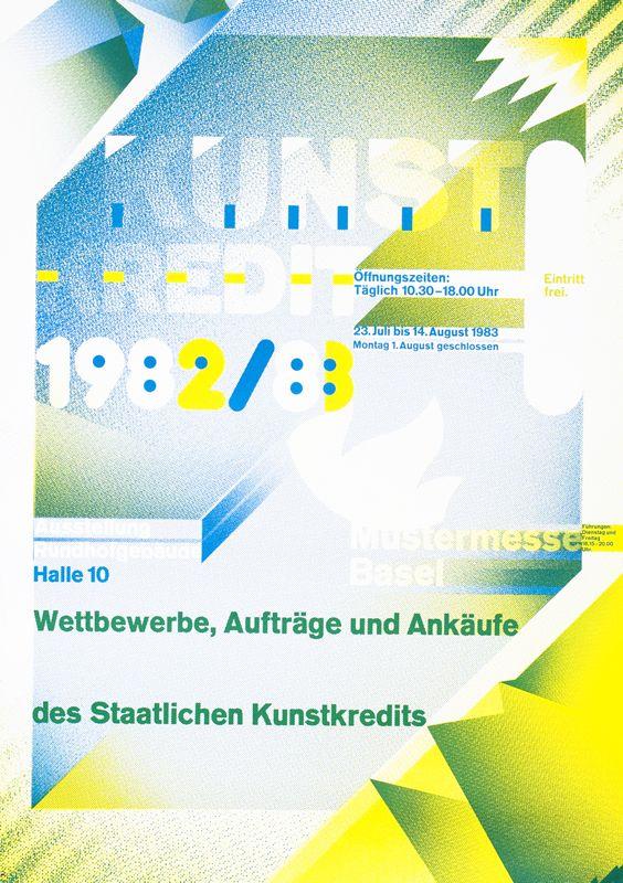 Kunst - Kredit 82/83 (handsigned) by Weingart, Wolfgang
