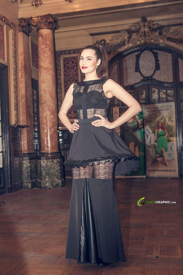 Fashion Show by Georgiana Ionita! Make-up by me!