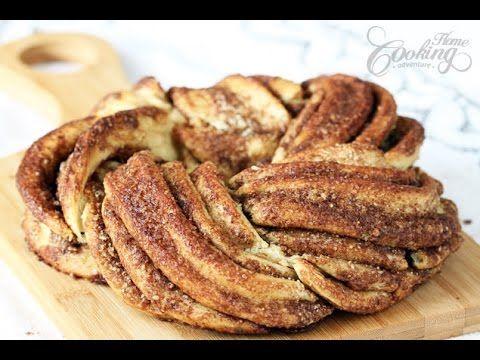 Cinnamon Braid Bread - Estonian Kringle