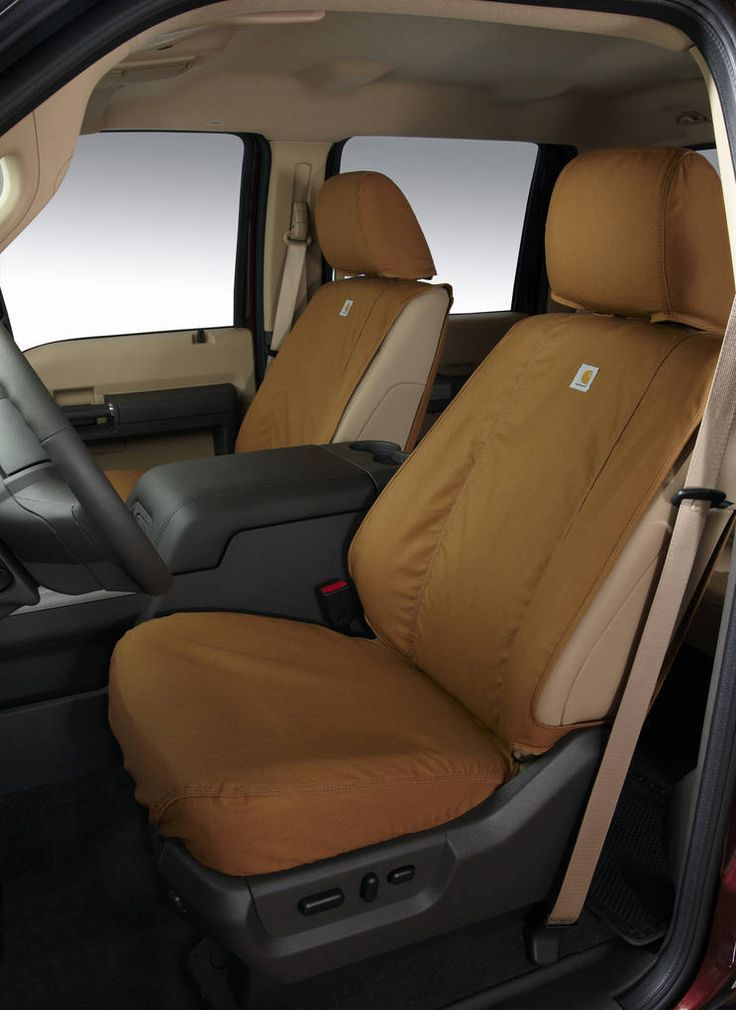 carhartt duck canvas seat covers...would be great for truck! Real tough material.