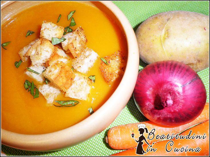 Vellutata di patate e carote con Bimby