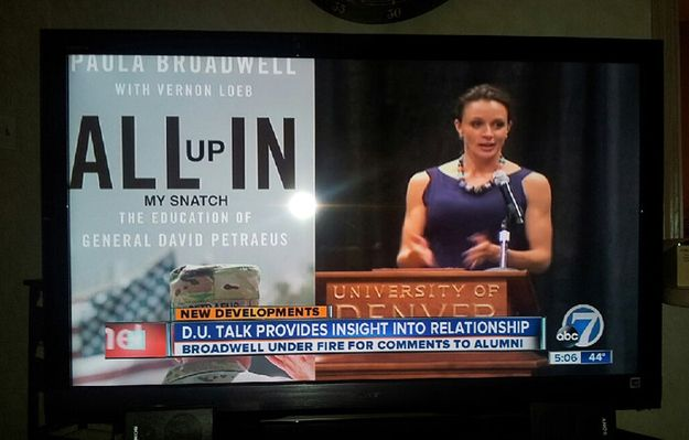 The Most Offensively Embarrassing Coverage Of The Petraeus Affair